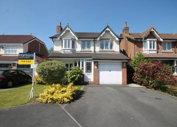 Thumbnail 4 bed detached house for sale in Salterton Drive, Middle Hulton, Bolton, Lancashire.