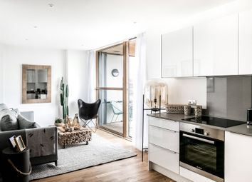 Thumbnail 2 bed flat for sale in Dewey Court, St Mark's Square, Bromley