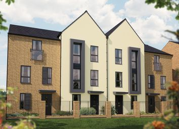 "Thumbnail 3 bedroom town house for sale in ""The Winchcombe"" at Limousin Avenue, Whitehouse, Milton Keynes"