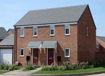 Thumbnail 2 bed terraced house for sale in Montague Crescent, Penkridge, Stafford