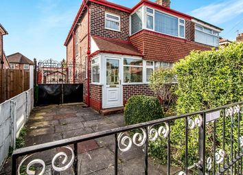 Thumbnail 3 bed semi-detached house for sale in Riva Road, East Didsbury, Manchester