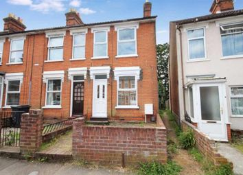 Thumbnail 2 bed terraced house to rent in Upland Road, Ipswich, Suffolk