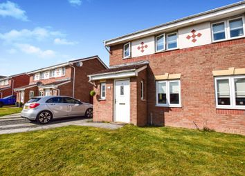 Thumbnail 2 bed semi-detached house for sale in Poplar Way, Motherwell