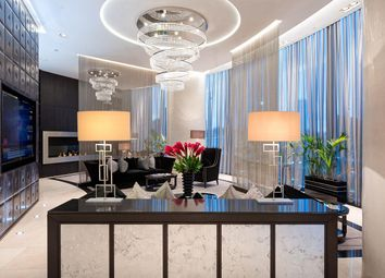 Thumbnail 3 bedroom flat for sale in The Tower, One St George Wharf, Nine Elms, London
