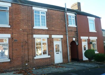 Thumbnail 2 bed terraced house to rent in Tower Close, Somercotes, Alfreton