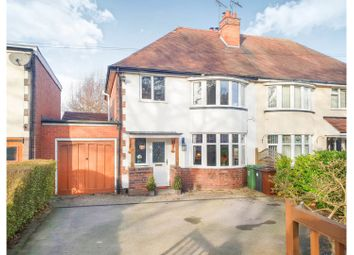 Thumbnail 3 Bed Semi Detached House For Sale In Bromsgrove Road Redditch