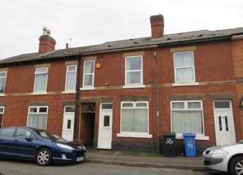 Thumbnail 4 bedroom terraced house to rent in Arundel Street, Derby