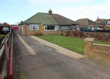 Thumbnail 2 bed semi-detached bungalow for sale in Church Avenue, Humberston, Grimsby