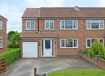 Thumbnail 4 bed semi-detached house for sale in Whenby Grove, Huntington, York