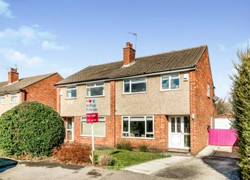 Thumbnail 3 bed semi-detached house for sale in Birkdale Walk, Alwoodley, Leeds