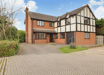Thumbnail 5 bed detached house for sale in Windmill Field, Windlesham