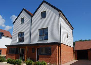 Thumbnail 3 bed semi-detached house for sale in Chilmington Gate, Great Chart, Ashford