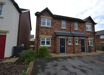 Thumbnail 3 bed semi-detached house for sale in Leander Close, Whitehaven