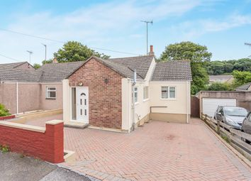 Thumbnail 3 bed semi-detached bungalow for sale in Shute Park Road, Plymstock, Plymouth