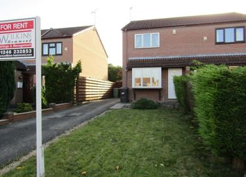 Thumbnail 2 bed semi-detached house to rent in Elvaston Road, Chesterfield