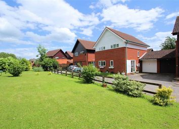 Thumbnail 4 bedroom detached house for sale in Snowshill Court, Giffard Park, Milton Keynes
