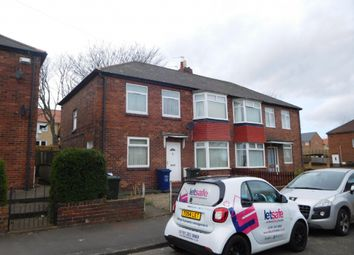 Thumbnail 3 bedroom flat to rent in Tunstall Avenue, Newcastle Upon Tyne