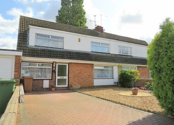 Thumbnail 4 bed semi-detached house for sale in Woodhurst Road, Stanground, Peterborough