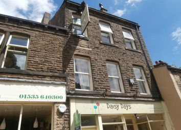 Thumbnail 2 bed flat to rent in Main Street, Haworth, Keighley