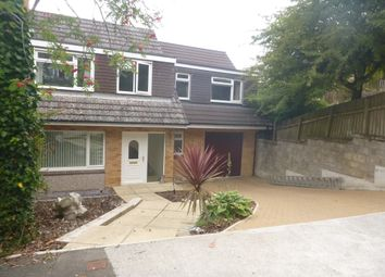 Thumbnail 4 bed detached house to rent in Lalebrick Road, Plymouth