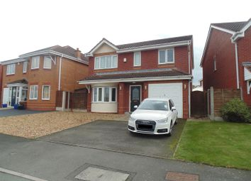 Thumbnail 4 bed detached house to rent in Fasson Close, Tamworth