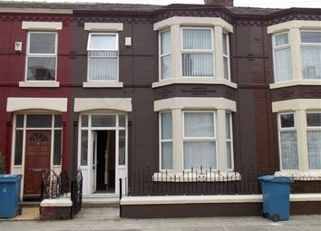 Thumbnail 3 bed terraced house to rent in Gorseburn Road, Tuebrook, Liverpool