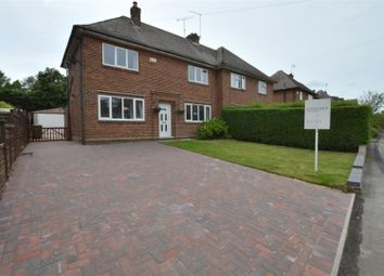 Thumbnail 3 bed semi-detached house to rent in Ferrers Crescent, Duffield, Belper