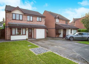 Thumbnail 4 bed detached house for sale in Guernsey Close, Congleton