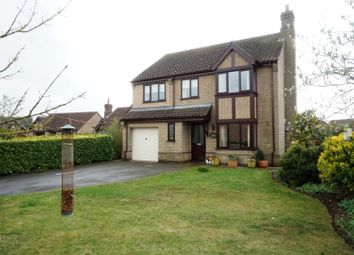 Thumbnail 4 bed detached house for sale in Lodge Close, Welton
