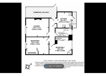 Thumbnail 2 bed flat to rent in Kenneth Court, London