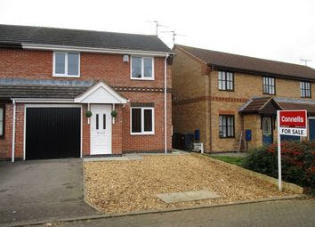Thumbnail 3 bedroom semi-detached house for sale in Applegarth Close, Corby