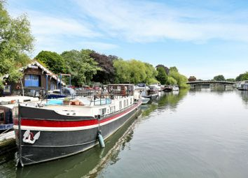 Thumbnail 2 bed houseboat for sale in Hampton Court Road, Hampton