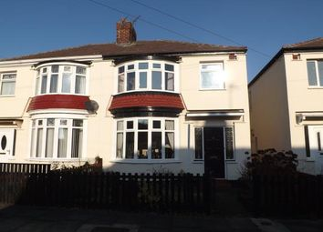 Thumbnail 3 bed semi-detached house for sale in Malvern Road, Stockton-On-Tees, Durham