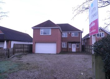 Thumbnail 5 bed detached house for sale in Hinckley Road, Leicester Forest East, Leicester