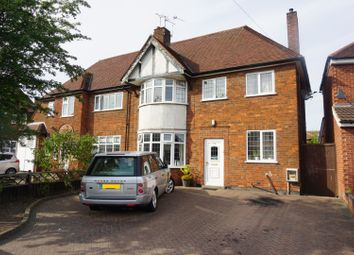 Thumbnail 3 bed semi-detached house for sale in Evington Close, Leicester