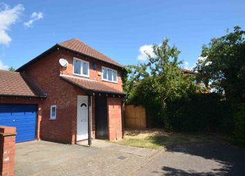 Thumbnail 3 bed link-detached house for sale in Harebell Close, Walnut Tree, Milton Keynes, Buckinghamshire