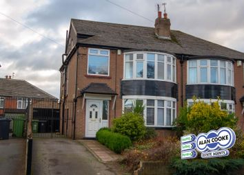 Thumbnail 4 bed semi-detached house for sale in Shadwell Walk, Moortown, Leeds