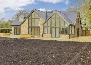 Thumbnail 4 bedroom detached house for sale in Fox Road, Bourn, Cambridge
