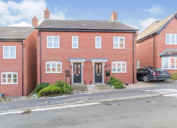 Thumbnail 2 bed semi-detached house for sale in Spire Close, Ashbourne