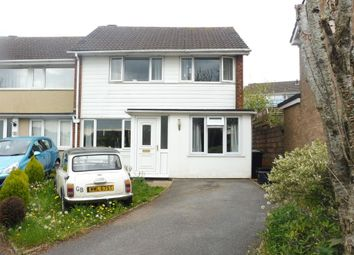 Thumbnail 3 bed end terrace house for sale in Harberton Close, Paignton
