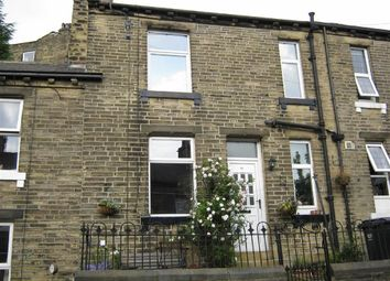 Thumbnail 1 bed terraced house to rent in Trooper Lane, Stoney Royd, Halifax