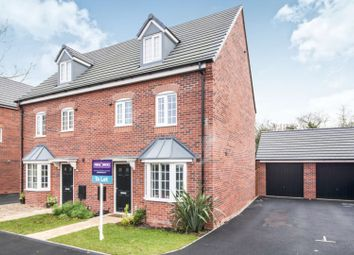 Thumbnail 4 bed semi-detached house to rent in Brent Close, Mackworth, Derby