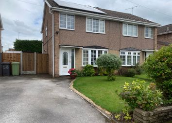 Thumbnail 3 bedroom semi-detached house for sale in Northfields, Clowne, Chesterfield
