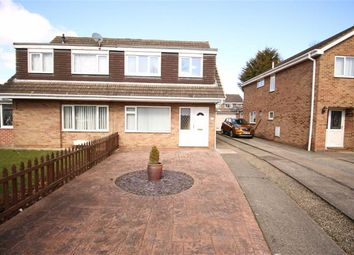 Thumbnail 3 bed semi-detached house for sale in Glamis Road, Darlington, Co Durham