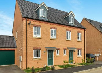 Thumbnail 3 bed semi-detached house for sale in Aintree Way, Bourne