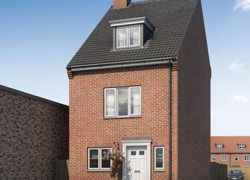 Thumbnail 3 bed detached house for sale in Stafford Road, Off Buckingham Road, Aylesbury