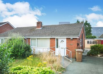 Thumbnail 1 bed bungalow for sale in Vyrnwy Road, Oswestry, Shropshire