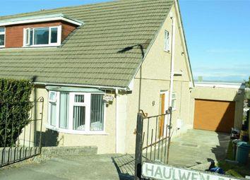Thumbnail 3 bed semi-detached bungalow for sale in Haulwen Road, Cockett, Swansea
