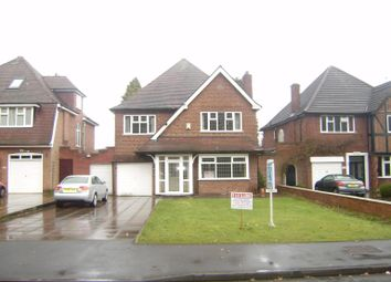 Thumbnail 4 bed detached house to rent in Streetsbrook Road, Solihull