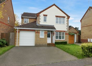 Thumbnail 4 bed detached house for sale in Wilks Farm Drive, Sprowston, Norwich